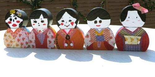 海外文化交流☆日本のひな人形を作ろう!