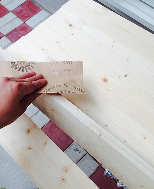 1人用カフェテーブルを作る! 前篇