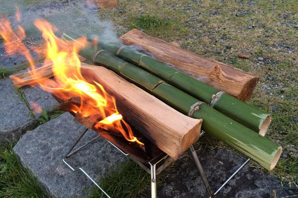 キャンプでDIY【後編】炎上するハプニングが!?