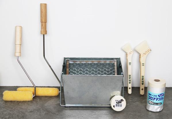 便利な道具セット ~必要なアイテムが揃ったペンキ塗りの道具セット~