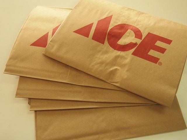 アメリカの日用品をご家庭に ~ACE 紙製庭用ごみ袋~