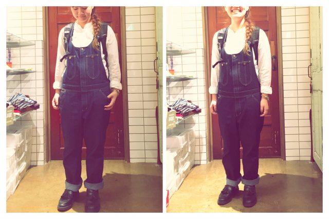 IDYのカフェエプロン&オーバーオールを着てみました!