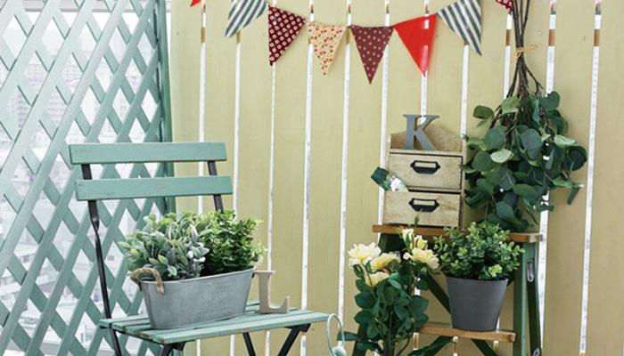 お庭・ベランダを彩るミルクペイント for ガーデン