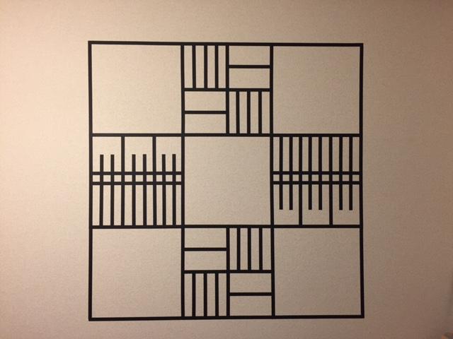 真っ白な壁のために真っ黒いマスキングテープができること~京都編~