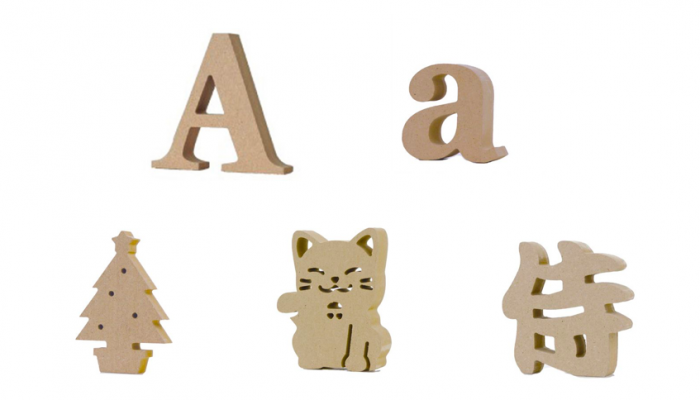 雑貨屋さんによくあるアルファベットオブジェ。こんなのもあるって知ってた?