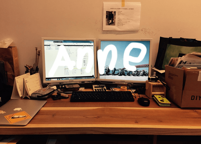 DFOのバックオフィスのデスクがDIYで素敵になっていた件
