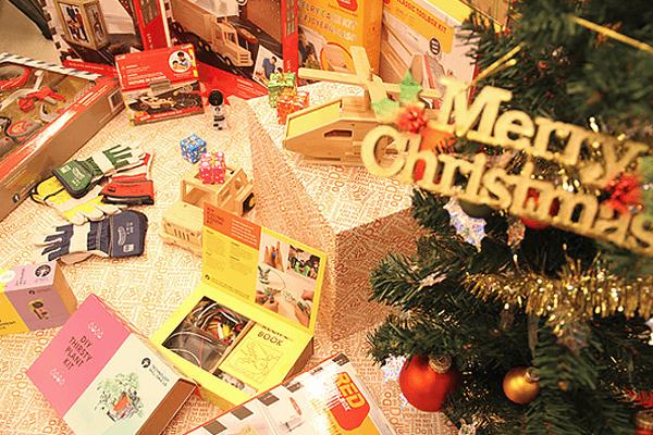 「つくるたのしさをクリスマスプレゼント」のプレスリリースが配信されました。